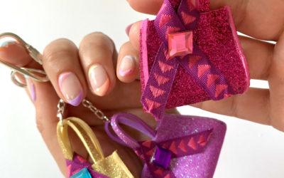 Manualidades día de la Madre: Llavero mini-bolsito