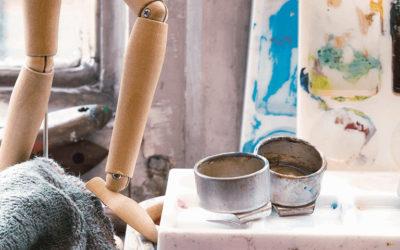 Disolventes para pintura al óleo